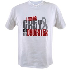 I Wear Grey For My Daughter 6 Value T-shirt