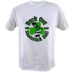 Rock Out with your Shamrock Out Value T-shirt