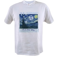 Pi in the Sky Value T-shirt