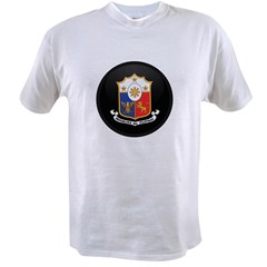 Coat of Arms of philippines Value T-shirt