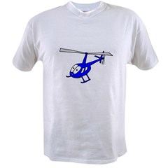 R22 Blue Value T-shirt