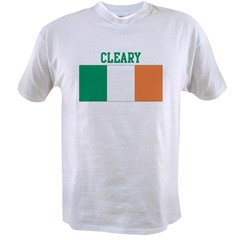 Cleary (ireland flag) Value T-shirt