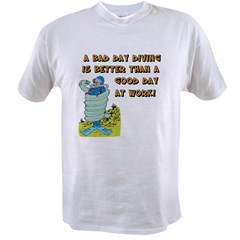 Bad Day Diving Value T-shirt