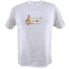 MUSIC NOTES Value T-shirt
