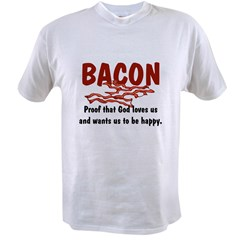 Bacon Value T-shirt