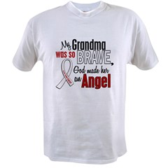 Angel 1 GRANDMA Lung Cancer Value T-shirt