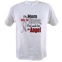 Angel 1 MOM Lung Cancer Value T-shirt