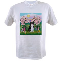 Blossoms/Tuxedo Ca Value T-shirt
