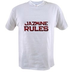 jazmine rules Value T-shirt