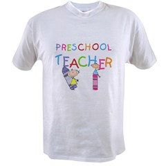 crayonpreschoolteacher Value T-shirt