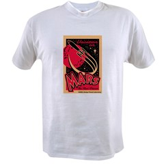 Mars Vacation Value T-shirt