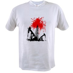 Oil of blood Value T-shirt