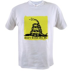 Don't Tread On Me Gadsden Value T-shirt
