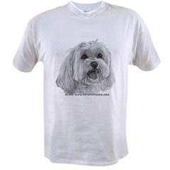 Sadie, Maltese Value T-shirt