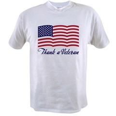 Thank A Veteran Value T-shirt