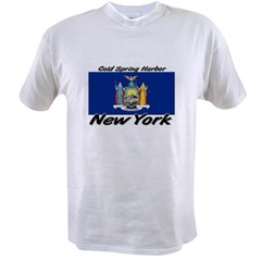 Cold Spring Harbor New York Value T-shirt