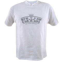 Sir_Fixalot_Metal_center Value T-shirt