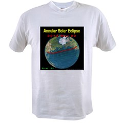 2012 Annular Solar Eclipse Value T-shirt