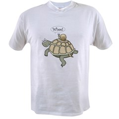 "Turtle and Snail ""Whee!"" Value T-shirt"