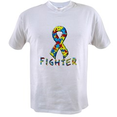 Autism fighter Value T-shirt