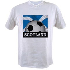 Football Scotland Value T-shirt