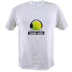 TENNIS ROCKS Value T-shirt