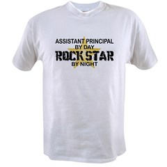 Asst Principal RockStar by Nigh Value T-shirt