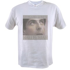 leonard hallelujah2t.jpg Value T-shirt