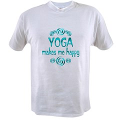 Yoga Happiness Value T-shirt