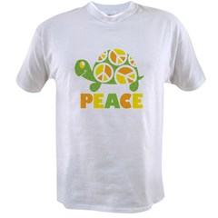 PeaceTurtle3 Value T-shirt