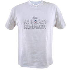 Anti Obama Before Cool Value T-shirt