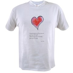 Love Deeply Value T-shirt