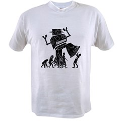Robot Apocalypse Value T-shirt