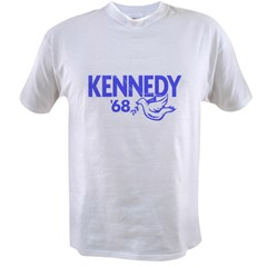 John Kennedy 1968 Dove Value T-shirt