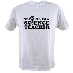 Science Teacher Value T-shirt