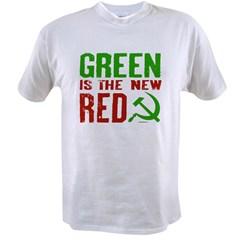 Green is the New Red Value T-shirt