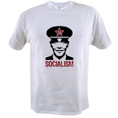 Obama Socialism Value T-shirt