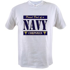 Corpsman Dad Value T-shirt