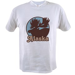 Alaska Moose Value T-shirt