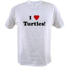 I Love Turtles! Value T-shirt