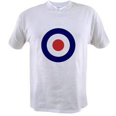 a00012_british_target Value T-shirt