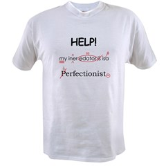 Perfectionist Editor Value T-shirt