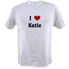 I Love Katie Value T-shirt