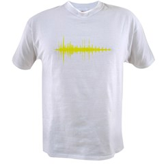 AudioWave_Yellow_1shot Value T-shirt