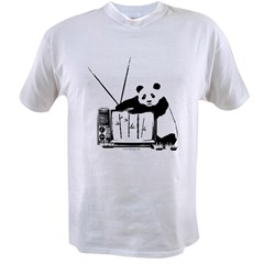 Panda Vision (Black) Value T-shirt