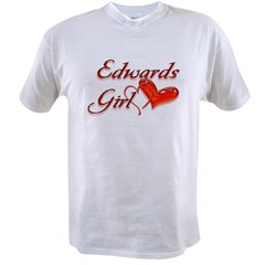 Edward's Girl Twilight Value T-shirt