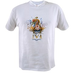 Immaculate Heart of Mary Value T-shirt