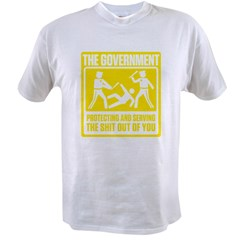 Protecting and Serving Value T-shirt
