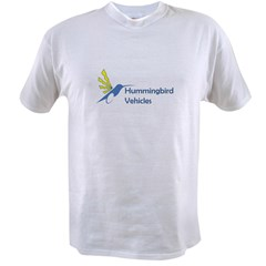 Hummingbird Logo Lettering.jpg Value T-shirt
