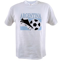 Argentina world cup soccer Value T-shirt